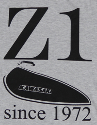 Z900.us TShirt grey Z1 since 1972