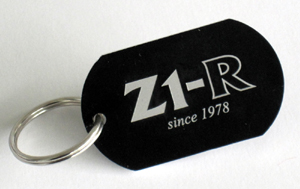 Key Ring with Z1-R since 1978 logo