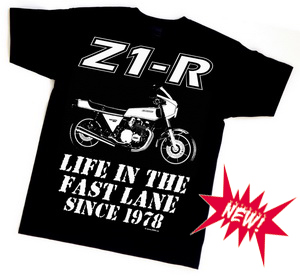 NEW! The Z1-R 40th anniversary t-shirt!