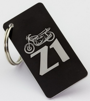 Z900.us key ring with Z1 emblem