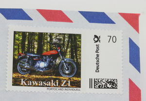 Kawasaki Z1 Limited Edition stamp