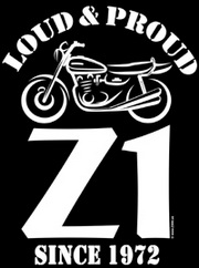 Z900.us T-Shirt Z1 LOUD AND PROUD