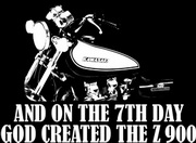 Z900.us T-Shirt AND ON THE 7TH DAY