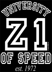 Z900.us T-Shirt Z1 UNIVERSITY OF SPEED