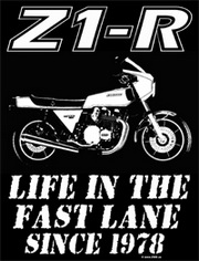 Z900.us T-Shirt Z1-R LIFEIN THE FAST LANE