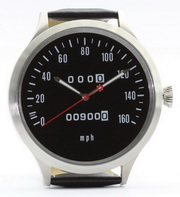 Z1 speedometer watch 43 mm with mph scale