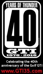 GTI35.com - Celebrating the 40th anniversary of the Volkswagen Golf GTI