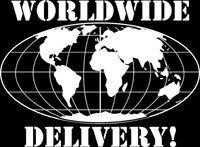 WORLDWIDE DELIVERY!