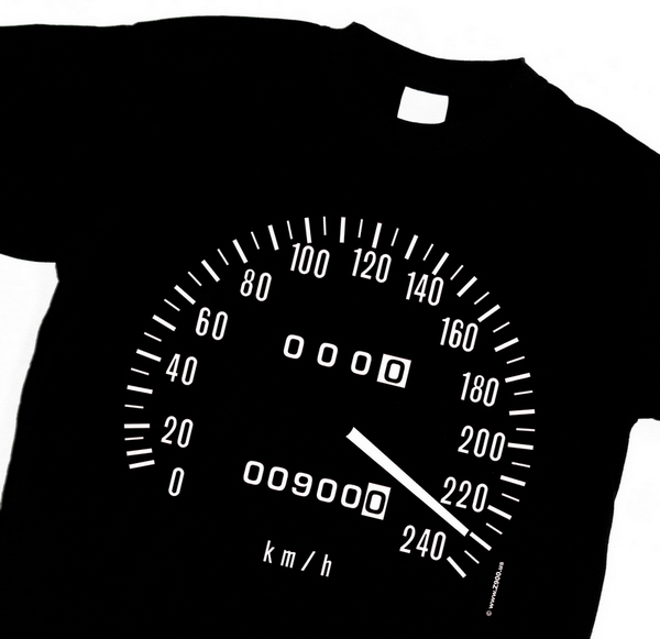 The Z 900 speedometer t-shirt