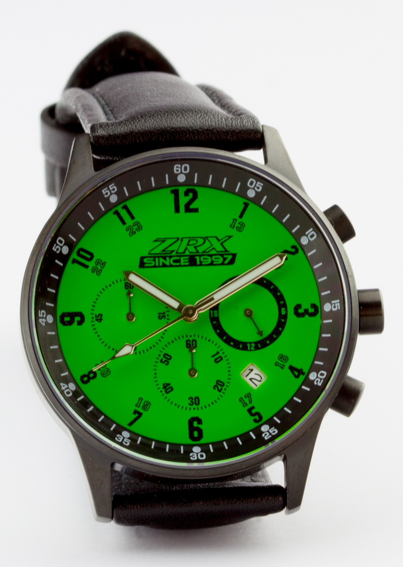 Z900us ZRX since 1997 chronograph green